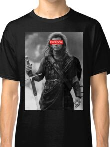 BRAVEHEART - freedom obey Classic T-Shirt