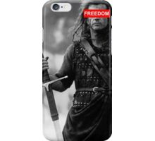 BRAVEHEART - freedom obey iPhone Case/Skin