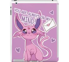 Espeon Love iPad Case/Skin