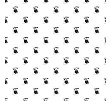 Vintage Telephone Repeating Pattern Photographic Print