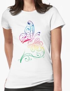 Butterfly 578 Womens Fitted T-Shirt