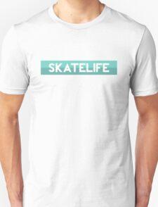 Skatelife Bar (Teal) Sticker Unisex T-Shirt