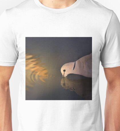 Cape Turtle Dove - African Wild Bird Background - Drinking Gold Unisex T-Shirt