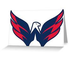 Washington Capitals Greeting Card
