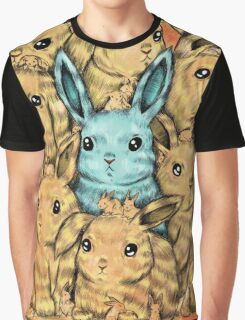 Bunny Blue Graphic T-Shirt