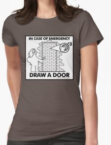 In Case of Emergencies Womens Fitted T-Shirt