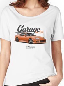 Supra Orange Women's Relaxed Fit T-Shirt
