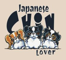 Japanese Chin Lover by offleashart