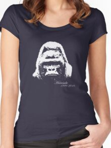 Harambe 1999-2016 Women's Fitted Scoop T-Shirt