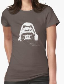 Harambe 1999-2016 Womens Fitted T-Shirt