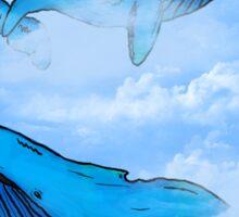 Sky Whales Sticker