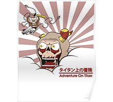 Adventure On Titan Poster