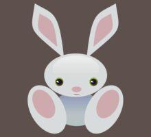 Little Blue Baby Bunny - The Wisley Baby Tee