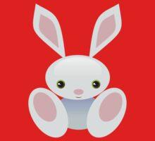 Little Blue Baby Bunny - The Wisley Kids Tee