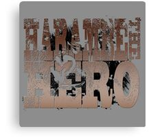 Harambe The Hero Canvas Print