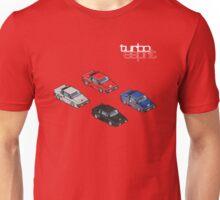 8 bit Lotus Esprit Turbo Pixel (white logo) Unisex T-Shirt