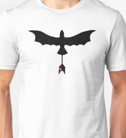 Black Toothless Unisex T-Shirt