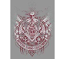 Satanic Masonic 2 (Grunge) Photographic Print