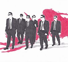 Reservoir Dogs by vknight1989