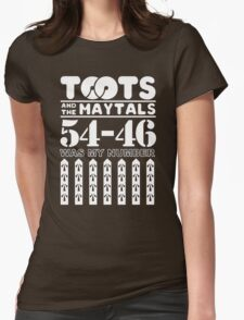 TOOTS AND MAYYTALS Womens Fitted T-Shirt