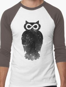 owlfinity Men's Baseball ¾ T-Shirt