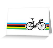Bike Stripes World Road Race Champion Greeting Card