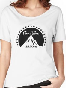 Alpe d'Huez (Black) Women's Relaxed Fit T-Shirt