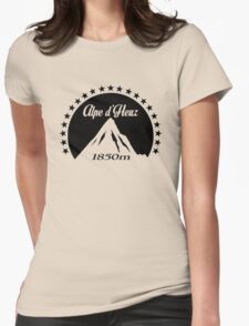Alpe d'Huez (Black) Womens Fitted T-Shirt