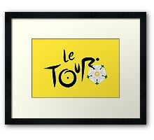 Le Tour de Yorkshire Framed Print