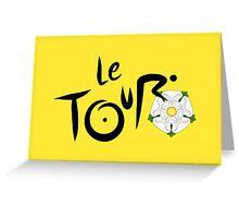Le Tour de Yorkshire Greeting Card