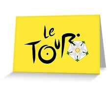 Le Tour de Yorkshire Greeting Card