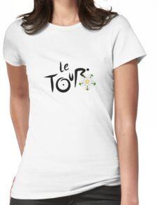 Le Tour de Yorkshire Womens Fitted T-Shirt