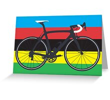 Bike World Champion (Big - Highlight) Greeting Card