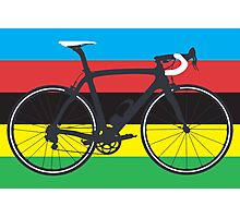 Bike World Champion (Big - Highlight) Photographic Print