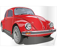 Red Bug Poster