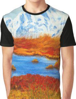 Lochside, Scotland Graphic T-Shirt
