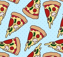 Pizza Pattern by rbsng