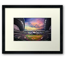 Late Afternoon Game Framed Print