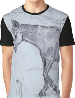 Horse sketch Graphic T-Shirt