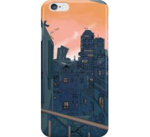 Cityscape in the Evening iPhone Case/Skin