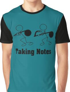 Taking Notes Graphic T-Shirt
