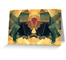 Textured Blocks Greeting Card