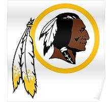 Redskins logo Poster