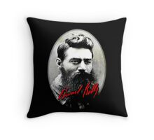NED KELLY T-SHIRT Throw Pillow