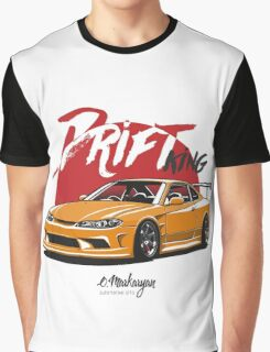 Nissan Silvia S15 (yellow) Graphic T-Shirt