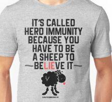 Herd Immunity Sheep Unisex T-Shirt