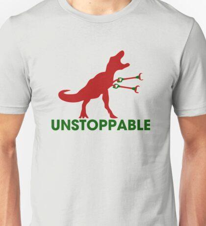 Unstoppable T-rex Unisex T-Shirt