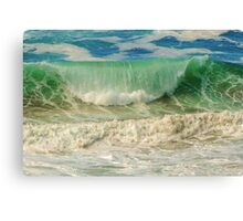 Summer's Perfect Wave Canvas Print