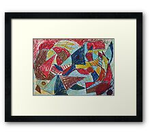 Fight Framed Print
