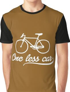 One less Car Graphic T-Shirt